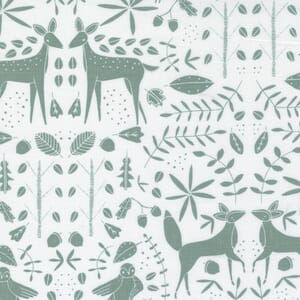 Large Image of the Moda Nocturnal Forest Otomi Moon Fabric 48334 11
