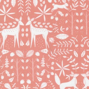 Large Image of the Moda Nocturnal Forest Otomi Primrose Fabric 48334 13