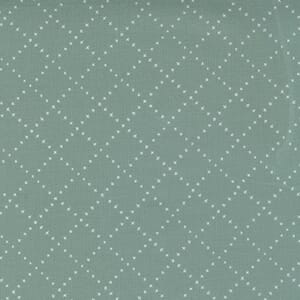 Large Image of the Moda Nocturnal Crossing Lines Moss Fabric 48337 19