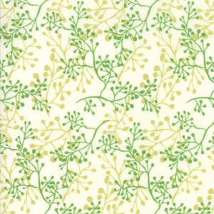 Large Image of Moda Fabric Painted Meadow Little Sprigs Natural