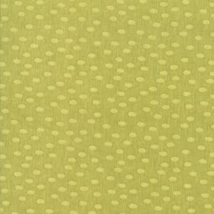 Large Image of Moda Fabric Painted Meadow Dots Light Green