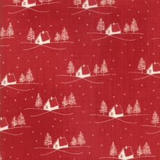 Small Image of Moda Fabric Wintertide Cozy Berry