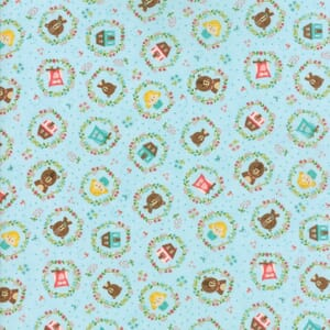 Small Image of Moda Fabric Home Sweet Home Goldies Story Sky