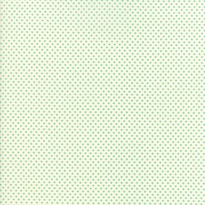 Small Image of Moda Fabric Home Sweet Home Swiss Heart Cream Aqua