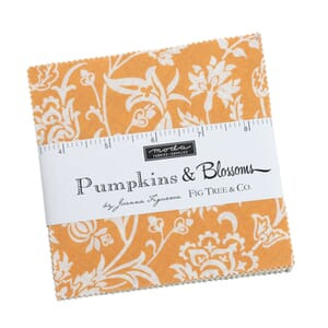 Moda Pumpkins and Blossoms Charm Pack