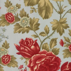 Large Picture of Moda Fabric Rosewood Rose Arbor Frost