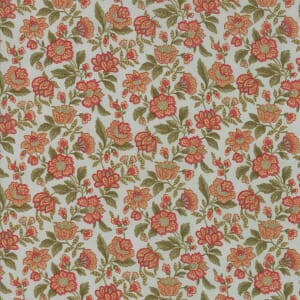 Large Picture of Moda Fabric Rosewood Packed Floral Frost