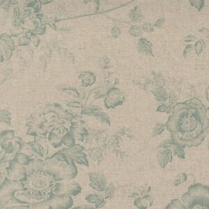 Small Image of the Moda Sister Bay Garden Blooms Linen Natural Sky Fabric 44270 31L