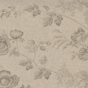 Small Image of the Moda Sister Bay Garden Blooms Linen Natural Driftw Fabric 44270 35L