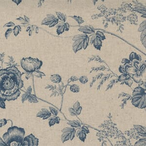 Small Image of the Moda Sister Bay Garden Blooms Linen Natural Harbor Fabric 44270 42L