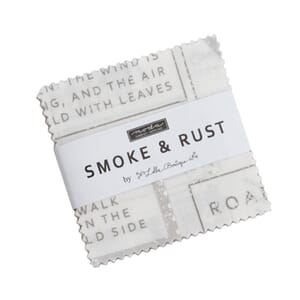 Moda Smoke and Rust Mini Charm