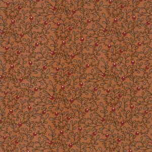 Thumbnail Picture of Moda Fabric Spice It Up Buds Vines Rust