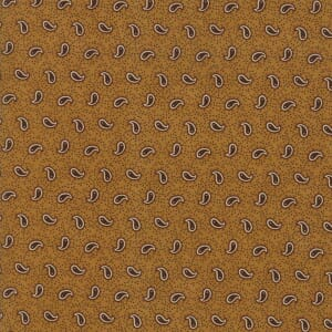 Thumbnail Picture of Moda Fabric Spice It Up Petite Paisley Golden Yellow
