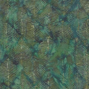 Moda Fabric Splendor Batik Emerald 15