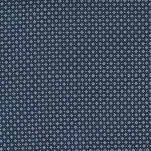 Large Image of the Moda Starlight Gatherings Dotted Nine Navy Fabric 49163 13