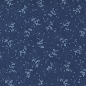 Large Image of the Moda Starlight Gatherings Queen Annes Lace Royal Fabric 49167 16