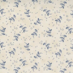 Large Image of the Moda Starlight Gatherings Queen Annes Lace Porcelain Fabric 49167 18
