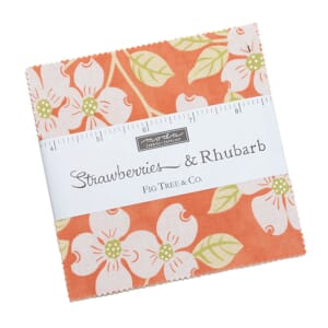 Moda Strawberries and Rhubarb Charm Pack