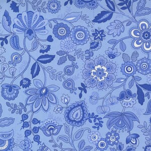 Small Image of the Moda Summer Breeze Folkloric Sky Fabric 33612 13