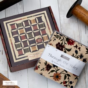 Through The Years Quilt Kit by Kansas Troubles For Moda