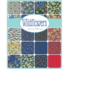 Small Image of the Moda Wildflowers Jelly Roll