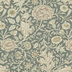 Morris & Co Orkney Double Bough Sage Fabric