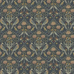 Morris & Co Orkney Seasons by May Indigo Fabric