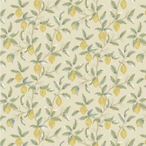 Morris & Co Orkney Lemon Tree Linen Fabric