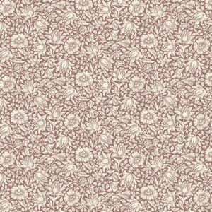 Morris & Co Orkney Mallow Rose Fabric
