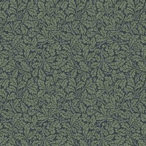 Morris & Co Orkney Oak Indigo Fabric