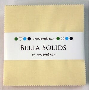 Small Image of Moda Fabric Bella solid Neutrals Charm Pack