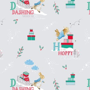 Peter Rabbit Christmas Fabric Letters