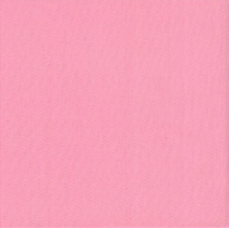 Plain Candy Pink Patchwork Fabric 100% Cotton 60 Inch Wide