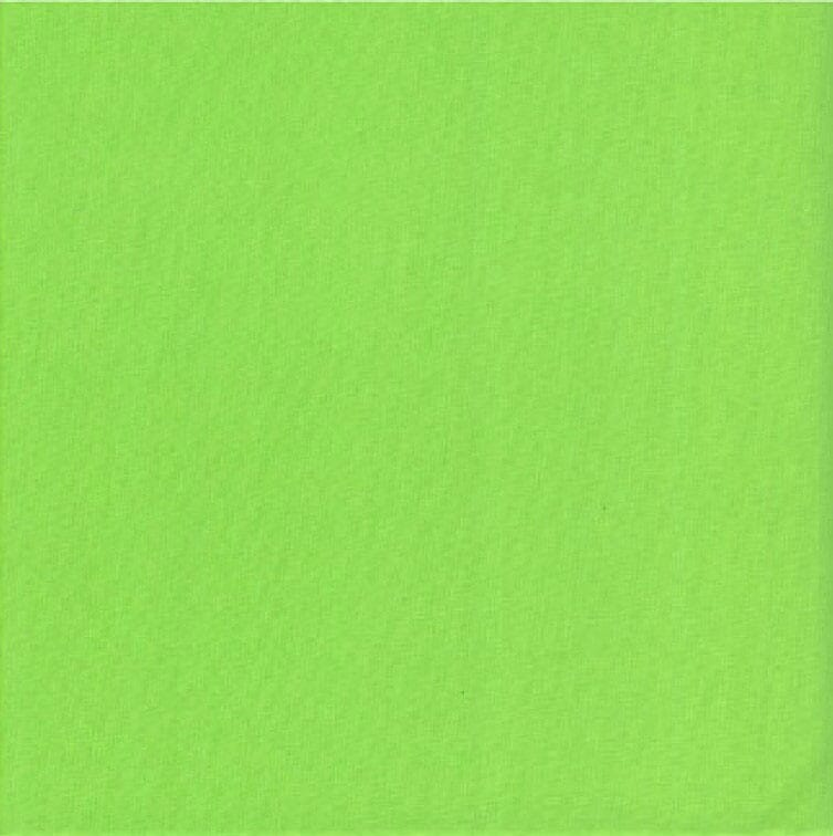 Plain Lime Green Patchwork Fabric 100% Cotton 60 Inch Wide