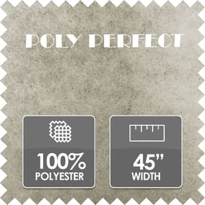 Poly Perfect Wadding, 100% Polyester, 45 Inch Wide