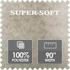 Super Soft Wadding, 100% Polyester, 90 Inch Wide