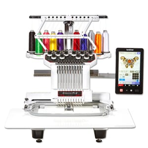 Brother PR1050X (EX DISPLAY) Embroidery Machine + FREE Stand