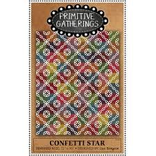 Primitive Gatherings Confetti Star Quilt Pattern