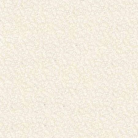 Quilt Backing Fabric 108 Inch Wide Tone on Tone White on Natural Tiny Print Cotton Fabric