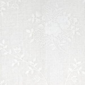 Small Image of Quilt Backing Fabric 108 Inch Wide Tone on Tone White Floral Bouquet Cotton Fabric