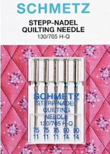 Schmetz Sewing Machine Needles Quilting Assorted Pack of 5
