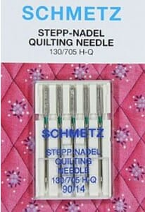 Schmetz Sewing Machine Needles Quilting Size 90/14 Pack of 5