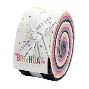 Large Image of the Ruby Star Birthday Jelly Roll