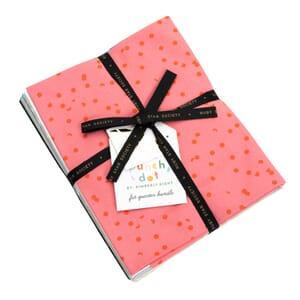 Large Image of the Ruby Star Hole Punch Dots Fat Quarter Bundle 20 Items