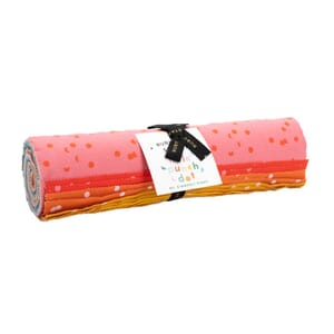 Large Image of the Ruby Star Hole Punch Dots Layer Cake