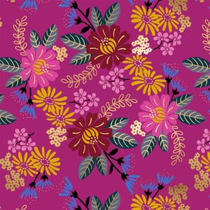 Large Image of the Ruby Star Reign Eminence Berry Fabric RS1026 14M