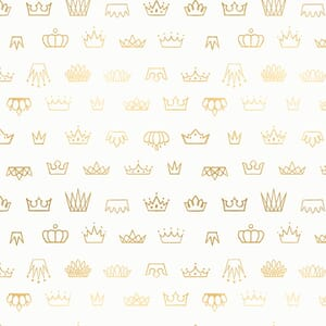 Large Image of the Ruby Star Reign Coronation Sweet Cream Fabric RS1030 11M