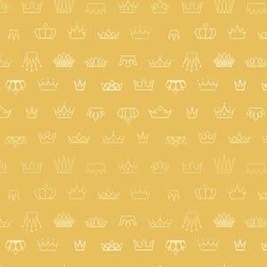 Large Image of the Ruby Star Reign Coronation Butter Fabric RS1030 12M