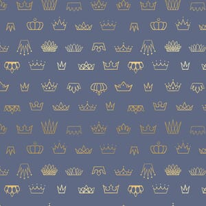 Large Image of the Ruby Star Reign Coronation Denim Fabric RS1030 16M