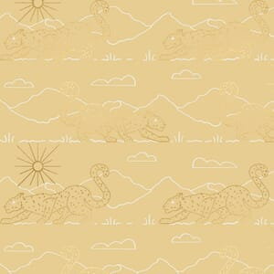 Large Image of the Ruby Star Reign Aristocat Sand Fabric RS1031 11M